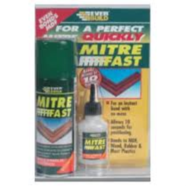 Mitre Fast Bonding Kit Clear Std
