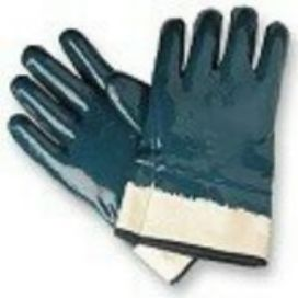 Blue PVC Nitron Gloves