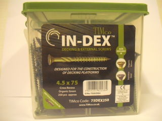 Index Green Decking Screws