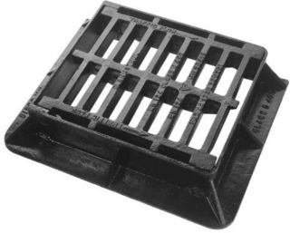 C250 Ductile Gully Grate & Frame- 380mm x 315mm x75mm