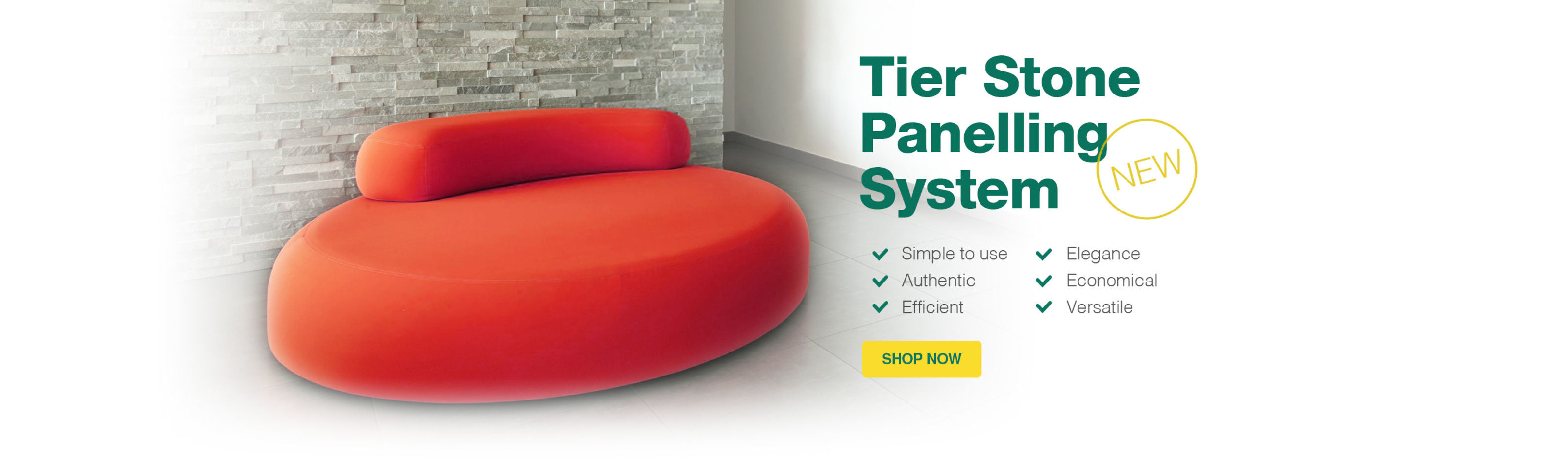 Tier Stone Panelling System