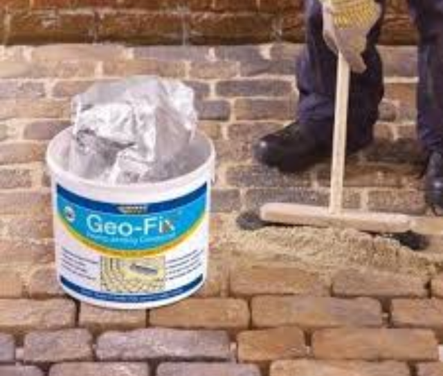 Summer Essentials: Geo-Fix All Weather Jointing Compound
