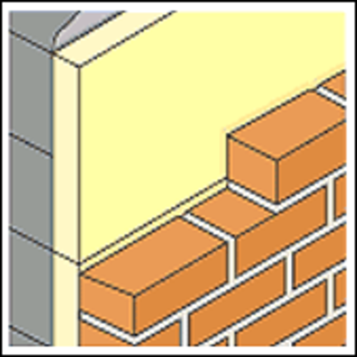 Isowool cavity wall insulation
