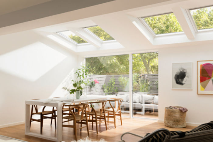 velux white wood