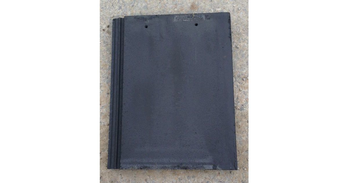 Smooth Grey Quinn Western Roof Tile