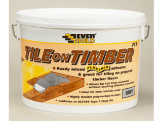 15Kg Tile On Timber Ready Mixed Flexible Tile Adhesive