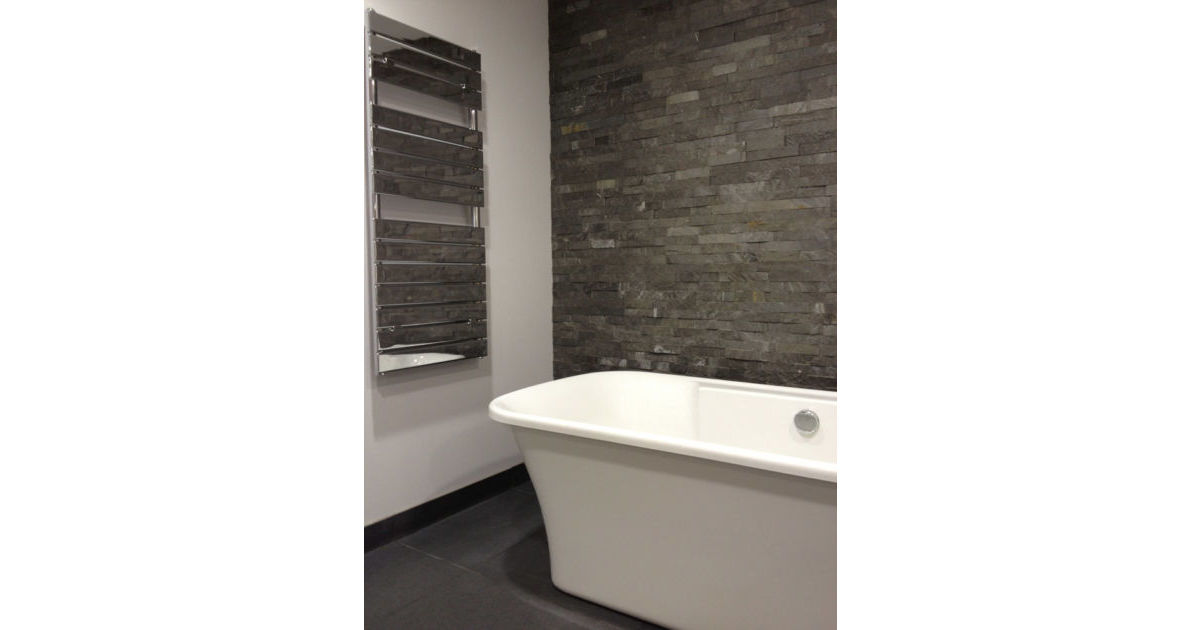Natural Stone Cladding Transforms Bathrooms
