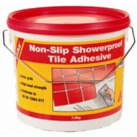 Sika Non-Slip Shower Proof Tile Adhesive