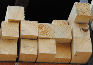 "Rough Sawn Treated Timber 2"" x 2"""