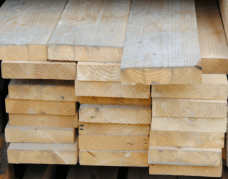 "Rough Sawn Graded Timber 8"" x 2"""